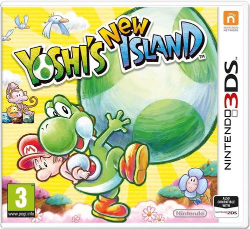 yoshi`s new island 3ds fisico