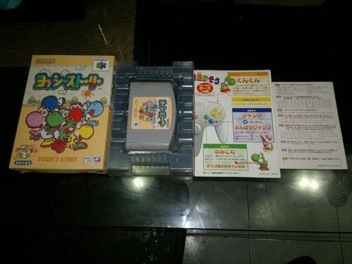 yoshis story en caja para nintendo 64 japones