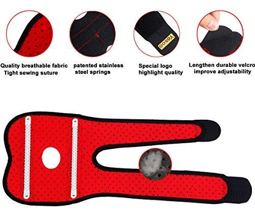 yosoo neopreno ajustable de tenis golfistas codera wrap bra