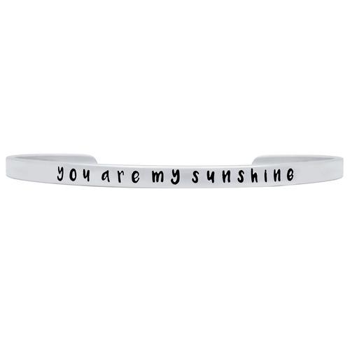 you are my sunshine  bangle