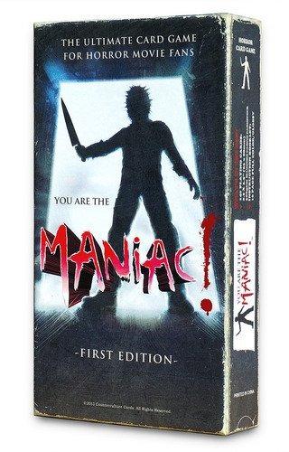 you are the maniac. la película terror juego cartas