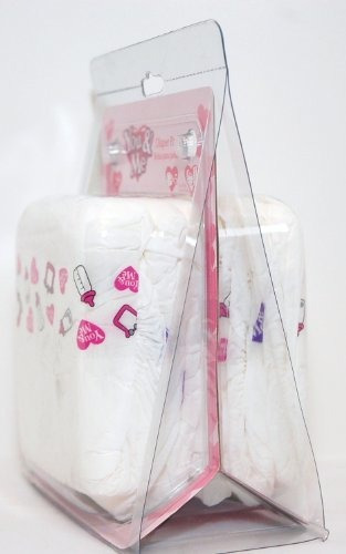 you - me baby doll diapers - paquete de 5