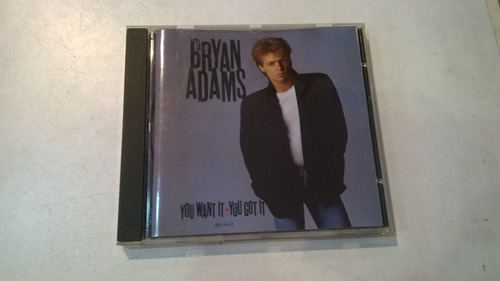 you want it, you got it, bryan adams cd made in west germany