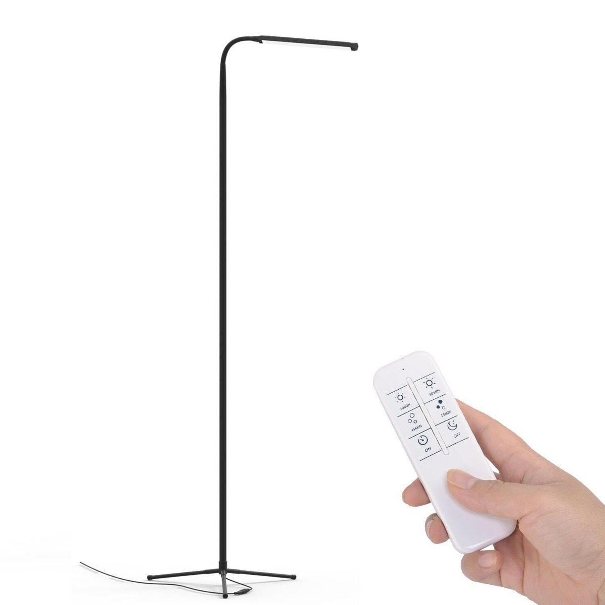 Youkoyi f9 modern touch led standing floor lamp reading for standing floor lamp reading for cargando zoom aloadofball Gallery