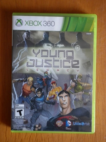 young justice legacy para x-box 360
