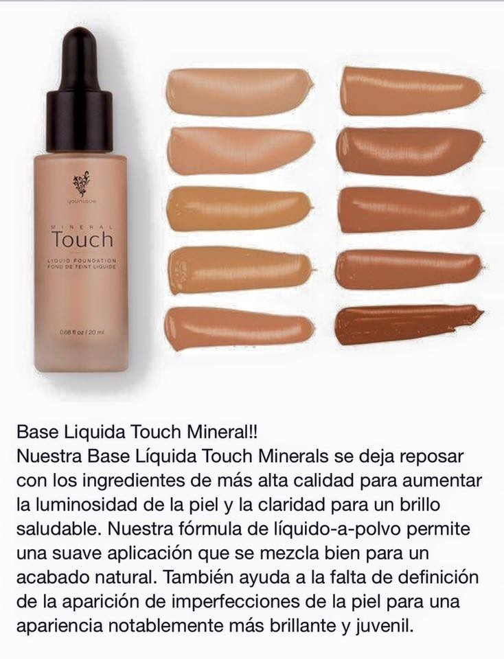 Younique maquillaje base l quida touch mineral 590 for Http y