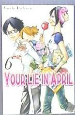 your lie in april 6(libro )