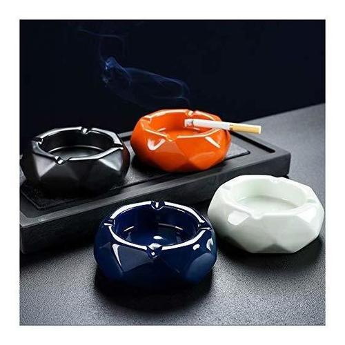 yournelo cenicero nórdico de cerámica colorida para cigarri
