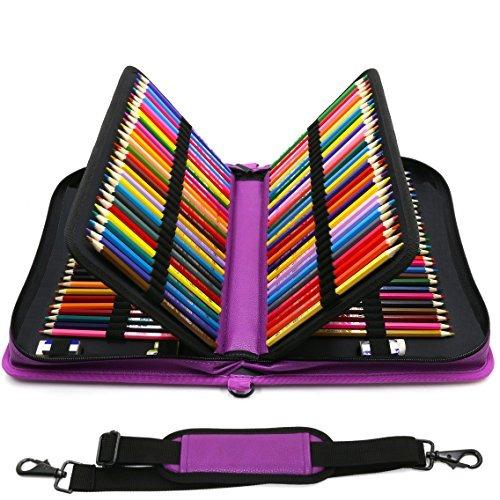 youshares 160 slots pencil case - bolso con cremallera de gr