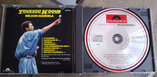 youssou n dour nelson mandela cd importado hecho en alemania