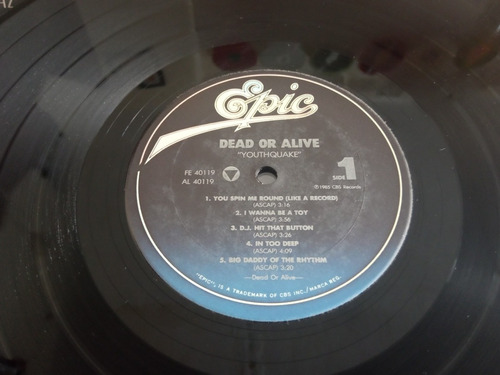 youthquake lp dead or alive r