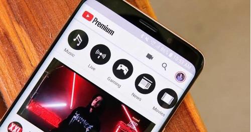 youtube premium / youtube music celular e tv box