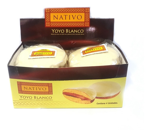 yoyo chocolate blanco nativo x4u
