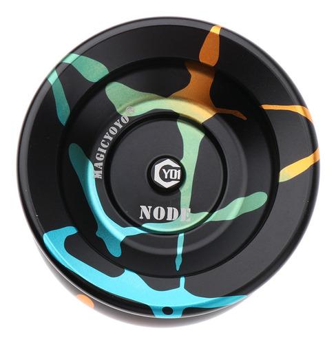 yoyo de aluminio de alto rendimiento con juego de cuerdas, v