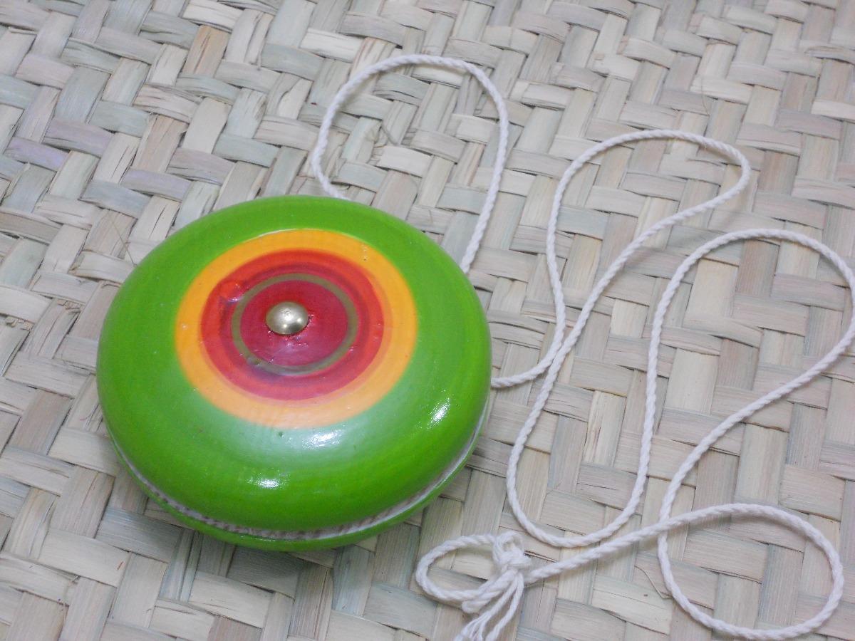 Tradicional Yoyo De Madera C50 3arl4q5j Juguete Paq Mexicano Pzas ZuPkiX
