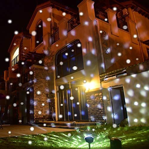 9b7248e1df9 Yoyokit Proyector De Luces De Navidad Para Exteriores Ip65 I ...
