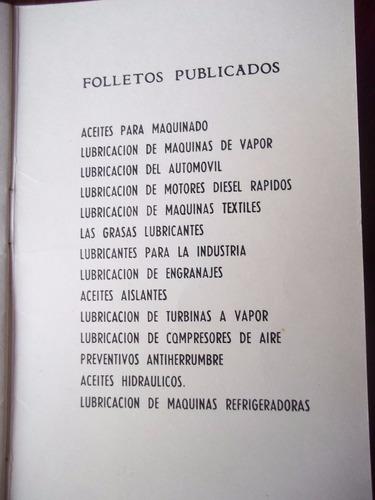 ypf antiguo folleto lubricacion de motores diesel rapidos