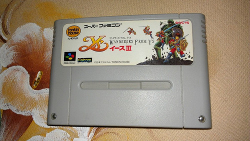 ys 3 original super famicom