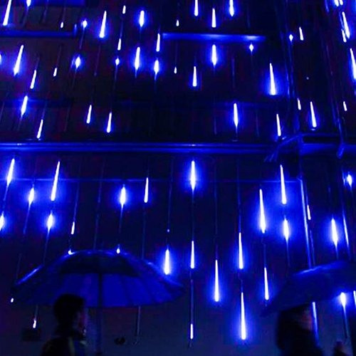 ysim meteor shower rain lights,twinkling romantic lights for