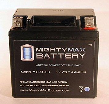 ytx5l-bs batería para yamaha xc50 vino clásico 50cc 06-'07
