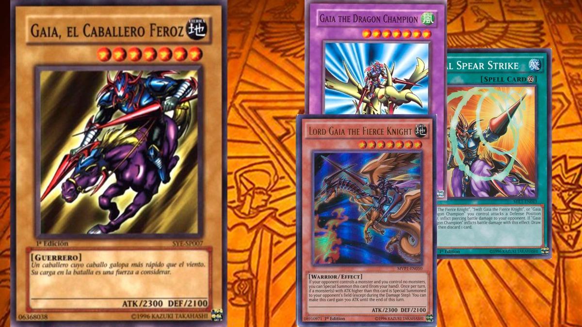 Yu Gi Oh Deck Gaia The Fierce Knight 2 000 00