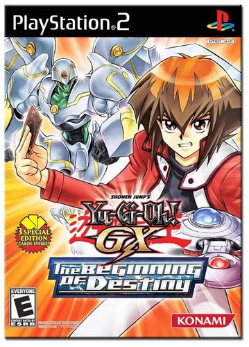 yu-gi-oh! gx  the beginning of destiny   jogos ps2