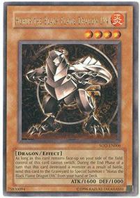 Nm Yugioh Horus The Black Flame Dragon Lv8//sod-en008//ultra Rare