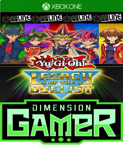 yu-gi-oh! legacy of the duelist xbox one no codigo off-line