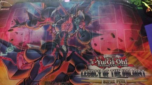 yu-gi-oh- playmat legacy of the valiant envio gratis por dhl