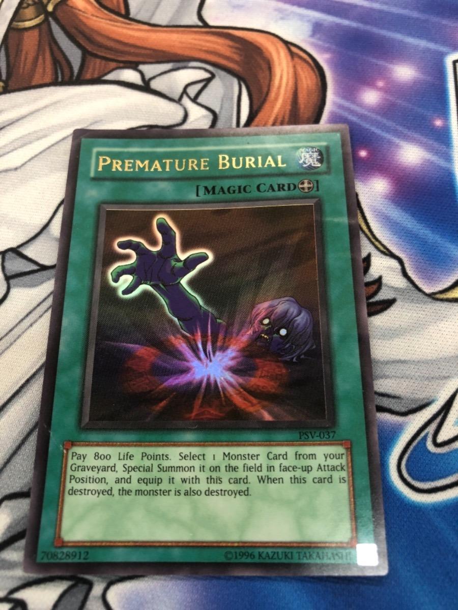 Yu Gi Oh Premature Burial Ultra Psv - $ 199 00