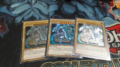 yu-gi-oh! set blue eyes 15 cartas listas para tu baraja