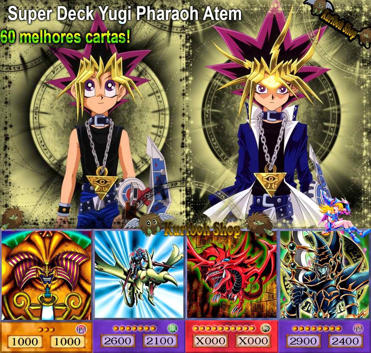 Yu Gi Oh Super Deck Yugi 60 Cartas Famosas E Raras R 72