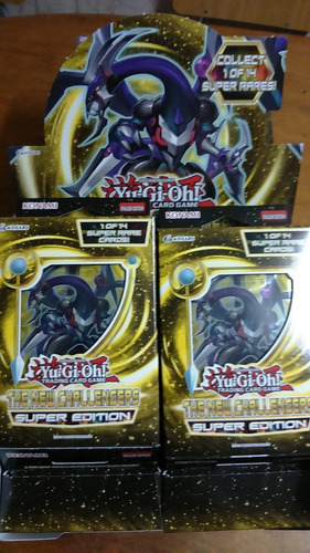 yu-gi-oh the new challengers super edition