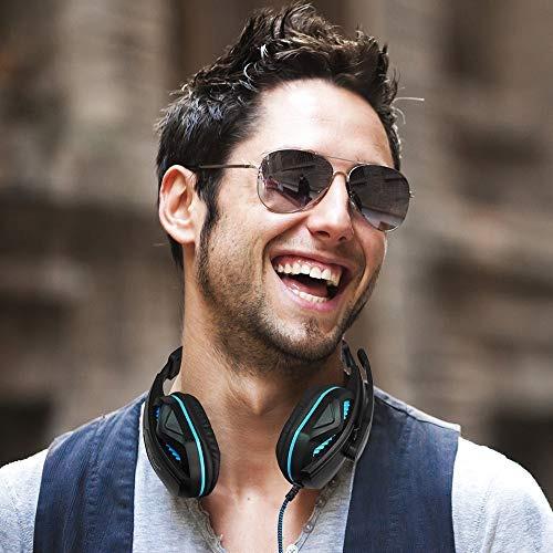 yucool gaming headset,auriculares estéreo con aislamiento d