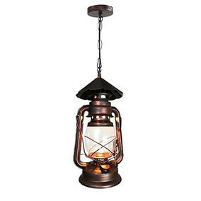 Vintage Lantern Lampara Industrial Jia S Rustic Colgante Yue vf7Ybgy6