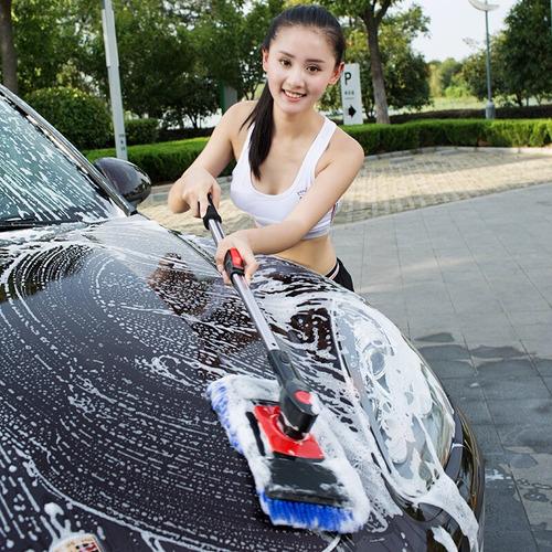 yuecar yc-shs01 fregona ajustable de aluminio para coche