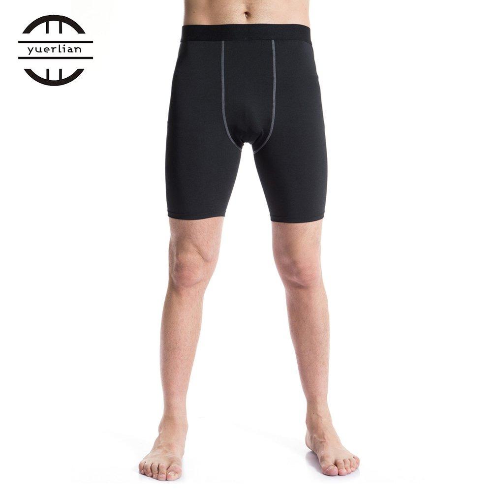 b51f11380d yuerlian hombres apretado compresión pantalones cortos moda. Cargando zoom.