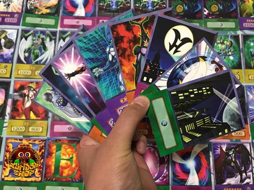 yugi - deck versão anime kit 4 cartas a sua escolha