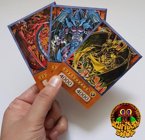 yugi - deck versão anime várias cartas avulso