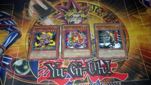 yugi-oh lote de cartas comunes goblins nuevas