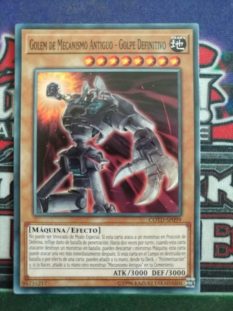Yugioh Ancient Gear Golem - Ultimate Pound Comun Español - $ 10 00