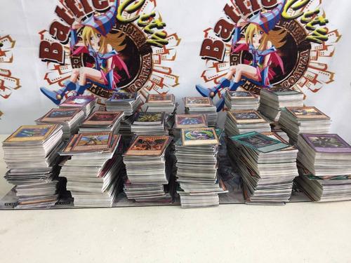 yugioh cartas sueltas paquete de 250 cartas + regalo y envio