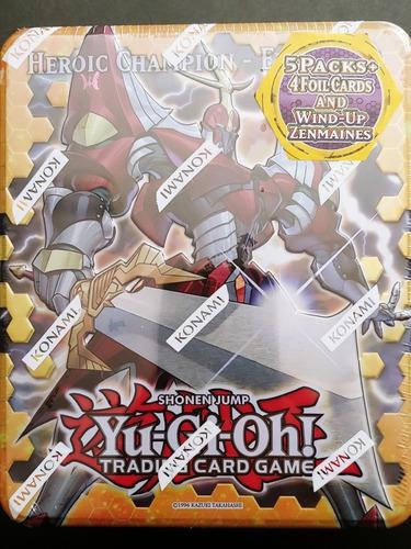 yugioh collector tin heroic champion excalibur yu-gi-oh!
