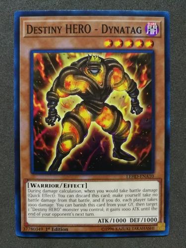 yugioh destiny hero - dynatag
