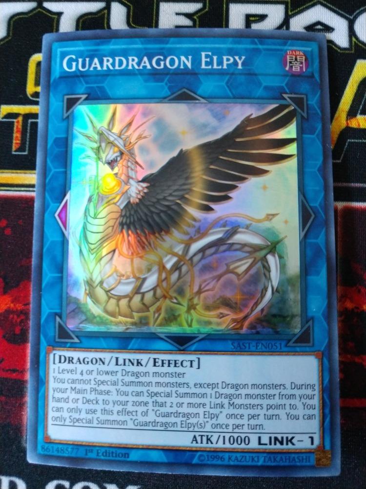 Yugioh - Guardragon Elpy Sast-en051 1st Ed  Link Monster