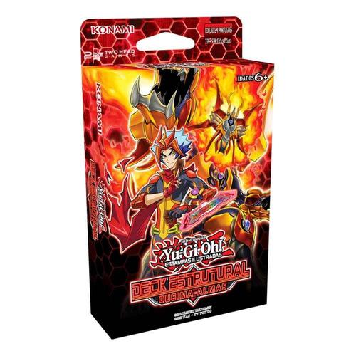 yugioh kit 3 deck estrutural queima almas soulburner ash