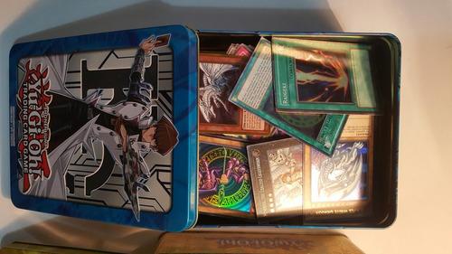 yugioh lata de 500 cartas(20foils) + 1 carta regalo descrip