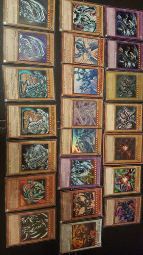 yugioh lata de 600 cartas(20foils) + 1 carta regalo! oferta!