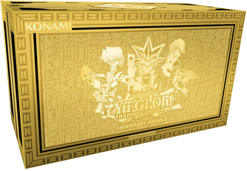 yugioh legendary deck 2 yugi kaiba joey (solo inglés)