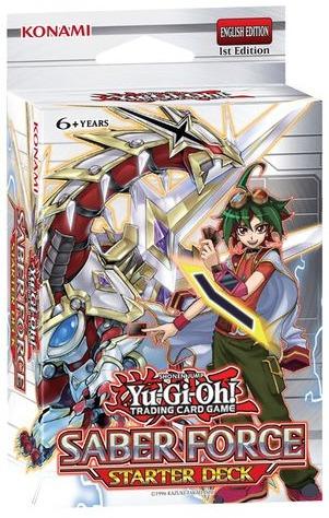 yugioh - starter deck saber force / starter deck dark legion